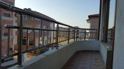 Алуминиев парапет за тераса Асеновград - Изображение 1