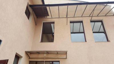 Навеси от плътен поликарбонат - жилище - Изображение 2