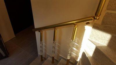 Алуминиеви парапети с луксозни плексиглас колонки - Изображение 3