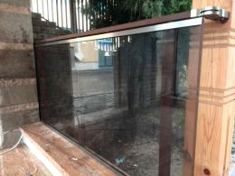 Квадратни профили със стъкло - Алутрейдинг ЕООД - Пловдив