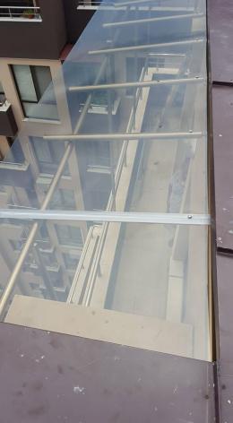 Навес от алуминиева конструкция и плътен поликарбонат - 05 - Алутрейдинг ЕООД - Пловдив