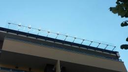 Навес от неръждаема конструкция и закалено стъкло изработен от Барос Вижън ЕООД и изпълнен от Алутрейдинг ЕООД - 04 - Алутрейдинг ЕООД - Пловдив