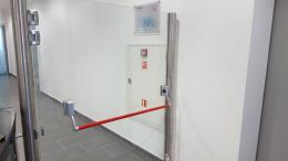 Заграждения от неръждаема конструкция и стъкло и стъклена врата - 02 - Алутрейдинг ЕООД - Пловдив