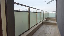 6 - Алуминиеви парапети с масово стъкло и квадратни профили - Алутрейдинг ЕООД - Пловдив