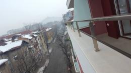 3 - Алуминиеви парапети с масово стъкло и квадратни профили - Алутрейдинг ЕООД - Пловдив