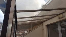 7 - Навес с плътен поликарбонат и алуминиева конструкция - Алутрейдинг ЕООД - Пловдив