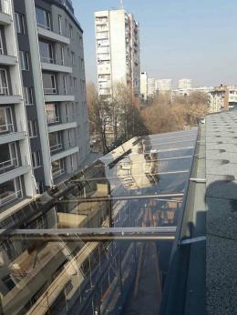 5 - Навес с плътен поликарбонат и алуминиева конструкция - Алутрейдинг ЕООД - Пловдив