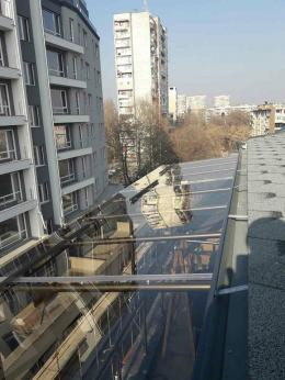3 - Навес с плътен поликарбонат и алуминиева конструкция - Алутрейдинг ЕООД - Пловдив