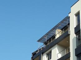 1 - Навес с плътен поликарбонат и алуминиева конструкция - Алутрейдинг ЕООД - Пловдив