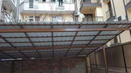 3 - Навес с желязна конструкция и пвц ламарина - Алутрейдинг ЕООД - Пловдив