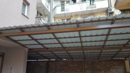 2 - Навес с желязна конструкция и пвц ламарина - Алутрейдинг ЕООД - Пловдив
