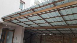 1 - Навес с желязна конструкция и пвц ламарина - Алутрейдинг ЕООД - Пловдив