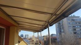 4 - Навес с алуминиева конструкция и композитен панел - Алутрейдинг ЕООД - Пловдив