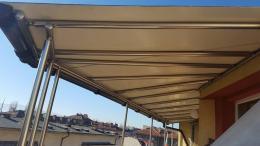 3 - Навес с алуминиева конструкция и композитен панел - Алутрейдинг ЕООД - Пловдив
