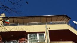 1 - Навес с алуминиева конструкция и композитен панел - Алутрейдинг ЕООД - Пловдив