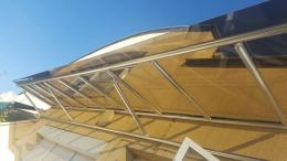 12 - Навес с алуминиева конструкция и композитен панел - Алутрейдинг ЕООД - Пловдив