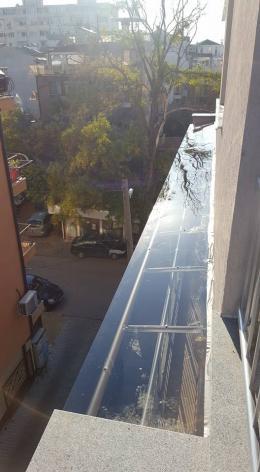 10 - Навес с алуминиева конструкция и композитен панел - Алутрейдинг ЕООД - Пловдив