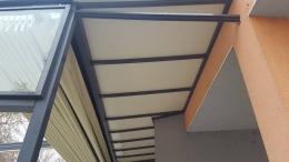 8 - Навес с алуминиева конструкция и композитен панел - Алутрейдинг ЕООД - Пловдив