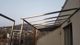 7 - Навес с алуминиева конструкция и композитен панел - Алутрейдинг ЕООД - Пловдив