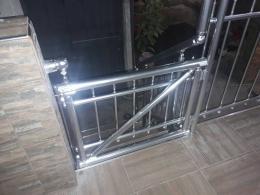 3 - Алуминиеви парапети вертикален пълнеж - Алутрейдинг ЕООД - Пловдив