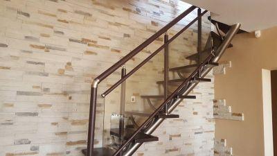 Луксозен парапет със стъкло - Алутрейдинг ЕООД - Пловдив